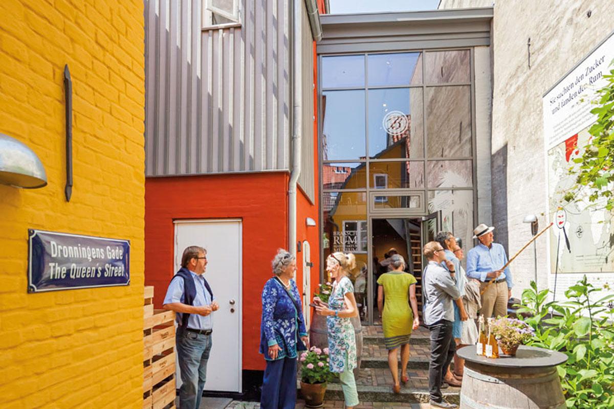 Impressionen aus den Braasch-Höfen, Rote Straße, Flensburg
