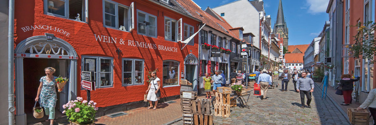 Impressionen Rote Straße, Flensburg